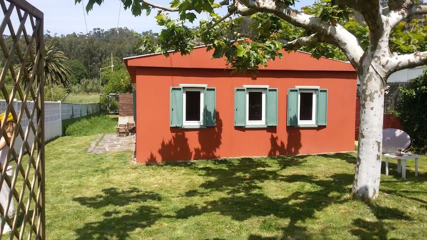 Casa en la playa de Nerga - Nerga - Huis
