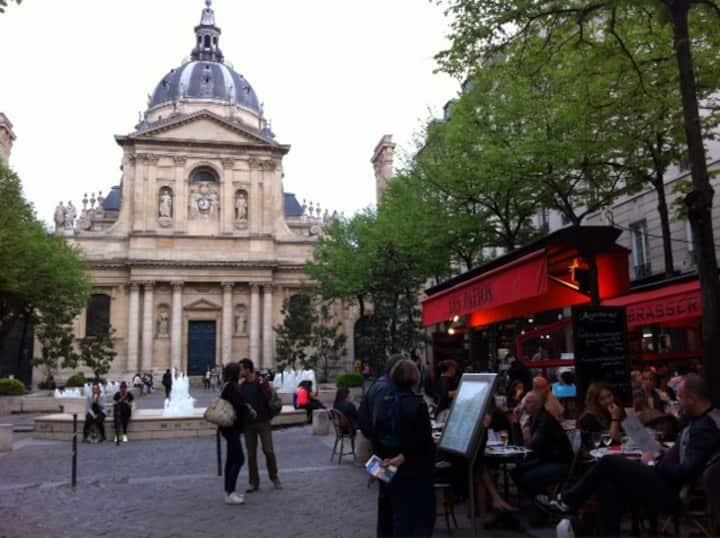 Studio Sorbonne/Bail Mobilité (1 to 10 months)