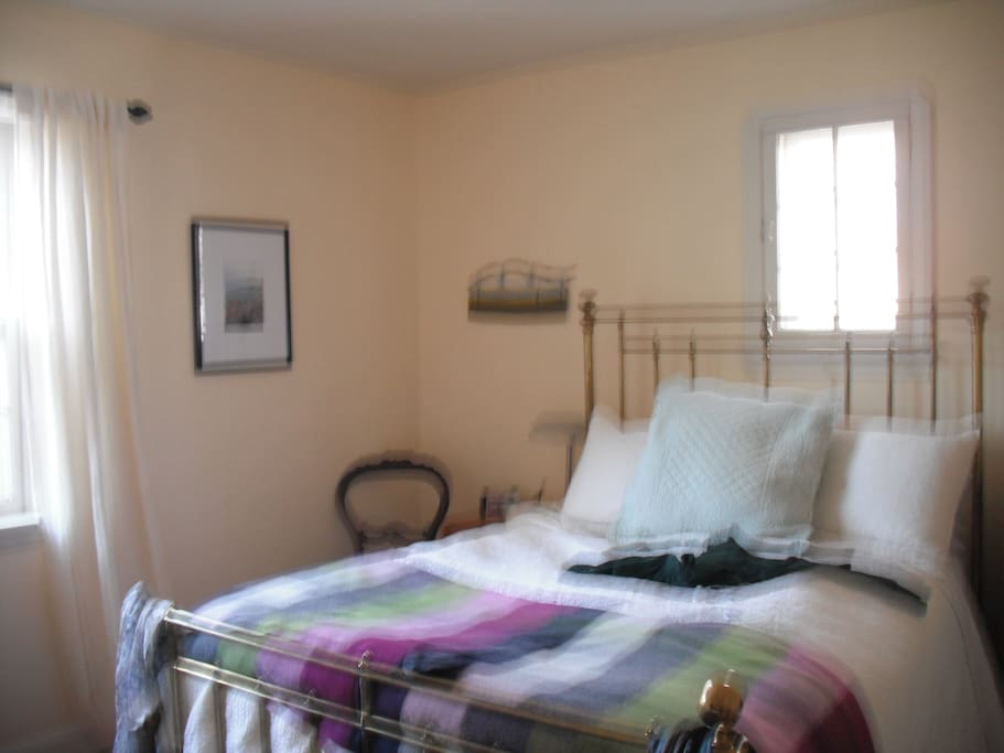 Master bedroom. Not furnished exactly as shown.
