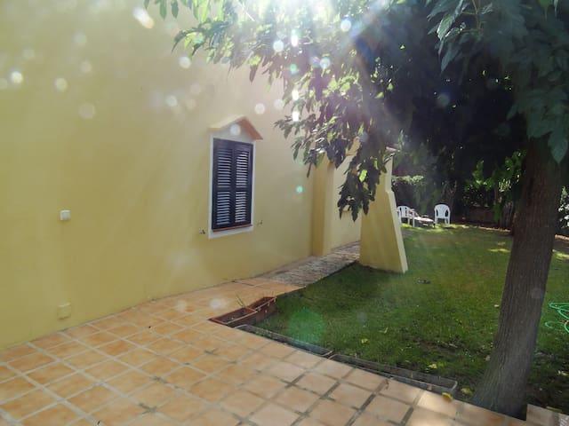 Menorca Cala N´Bosch Bonita Casa con Jardín. - Cap d'Artrutx - Hus