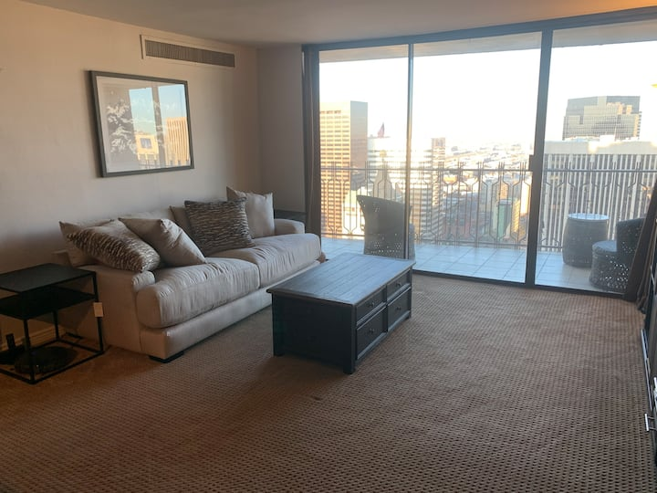 Centrally Located Downtown Studio with City Views