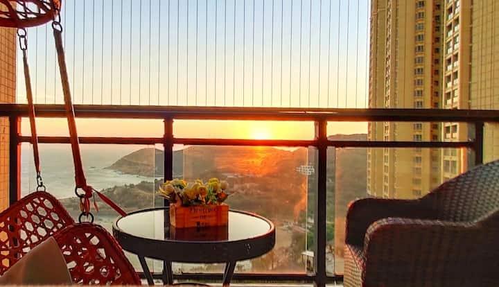 南澳岛海泉湾全海景房地中海风格度假公寓