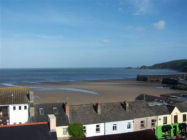 Spectacular seaviews in centre of  Saundersfoot - Saundersfoot - Dom