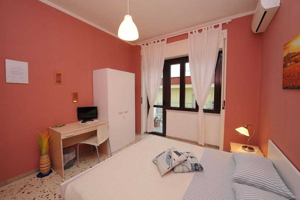 Bedroom - double version - Stanza Cilento - B&B Salerno in Alto Mare