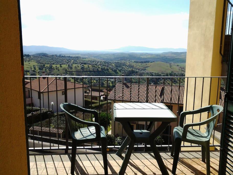 L'appartamento la Bella Vista balcone panoramico