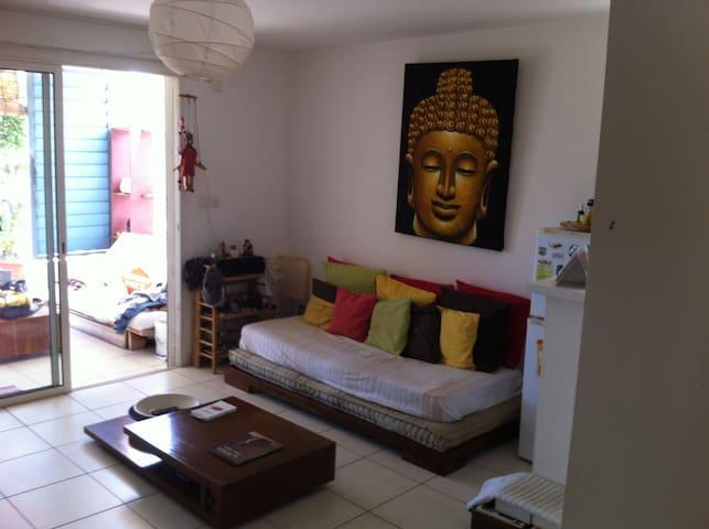 appartement calme et sympatrique proche de la mer - La Saline-Les-Bains - Selveierleilighet