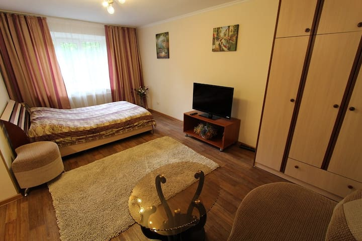 1room apt. Gogol st.&Zheltoksan st. - Almaty - Apartment