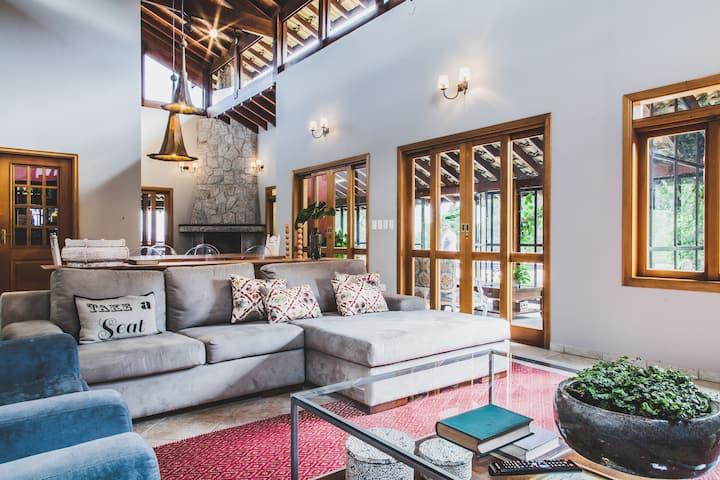 Casa charmosa com vista magnífica