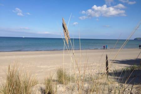 Luxus Strandapartment bei Binz Hund - Pis