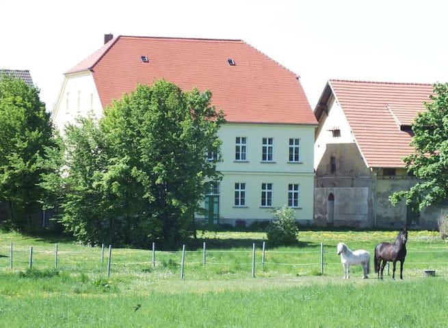Försterwohnung auf dem Rittergut! - Falkenstein/Harz - Leilighet
