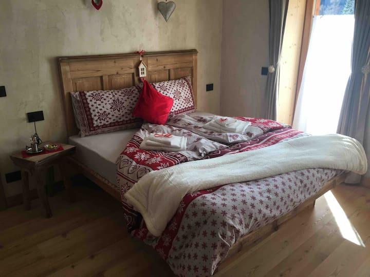 """Sas Longo"" Room in the Dolomiti near Cortina"