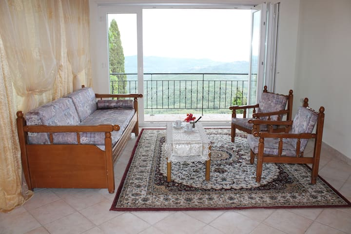 Apartment with a great view - Chlomos - Apartamento