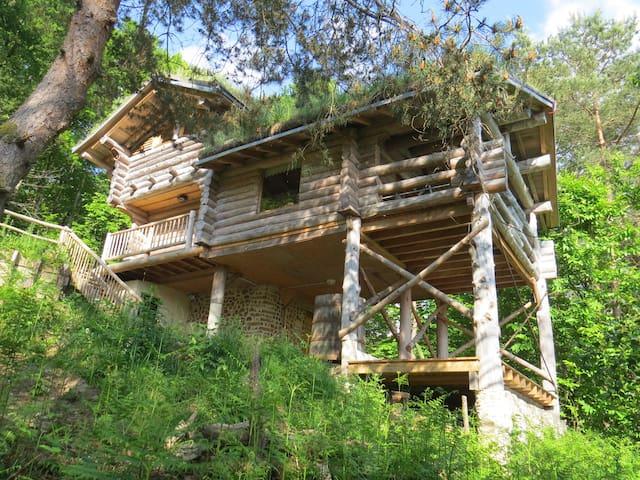 la cabane de Hans - Saint-Martial-de-Gimel - Casa na árvore