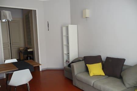 chambre ds appart  bord de plage - Toulon - Apartemen