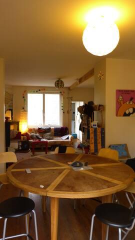 Chambre dans grand appartement proche Lille Europe - La Madeleine - Wohnung