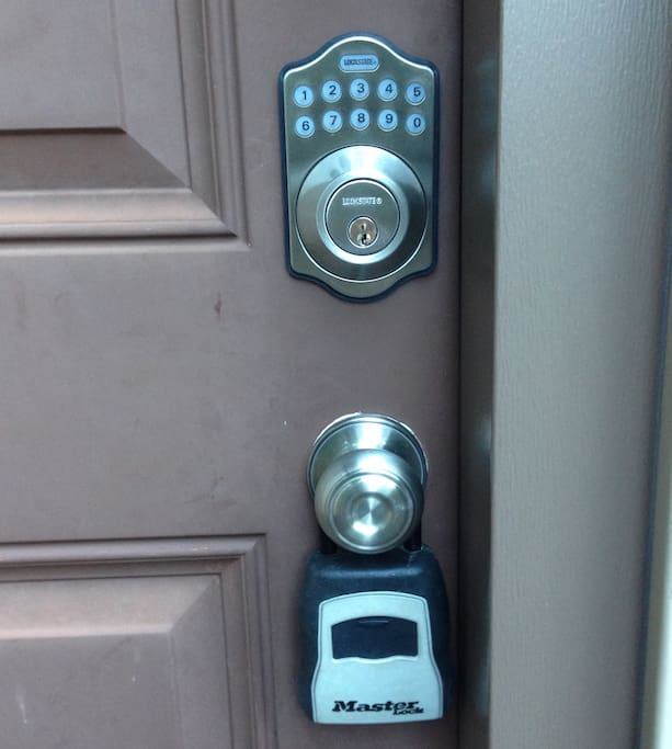 Digital Lock (Access Code will be sent through email)