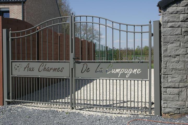 """Gîte """"Aux Charmes de la Campagne"""" - Saint-Ghislain"""