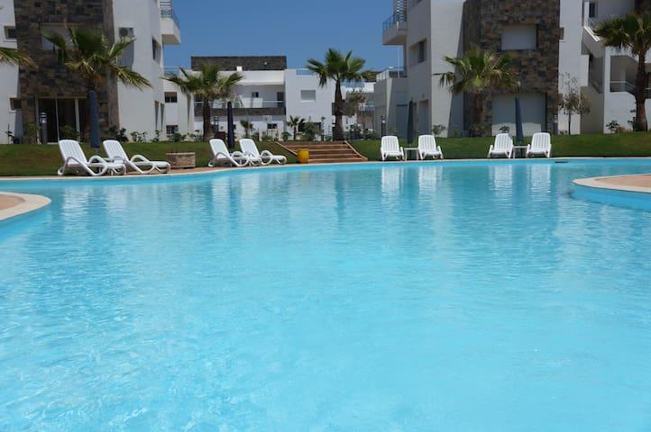 T3 neuf, résidence Perla 200m plage - Saïdia - Wohnung