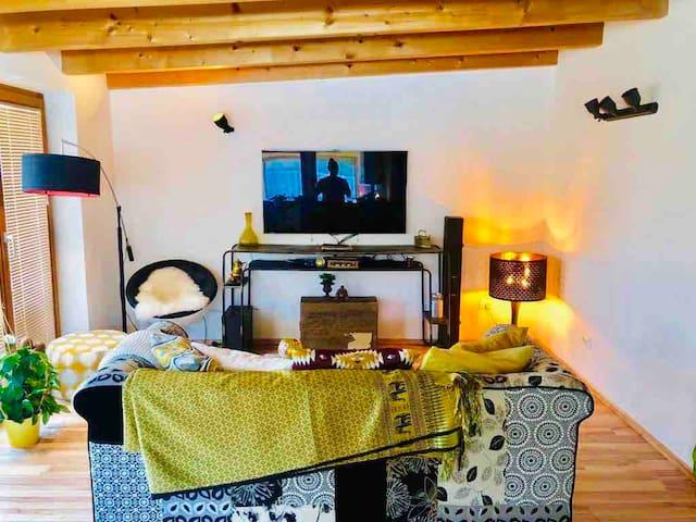 Gemühtliche Wohnung mit Balkon im Vinschgau