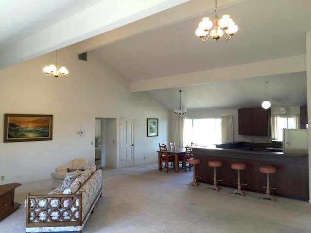 2BR guest house near Stanford w spectacular views - Los Altos Hills