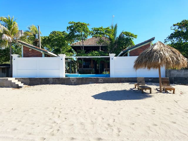 Pochomil Beach House Private Casita #2 - Sleeps 4