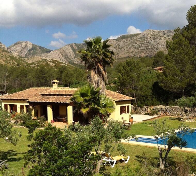 Finca en plena naturaleza casas rurales en alquiler en ll ber comunidad valenciana espa a - Casa rurales comunidad valenciana ...