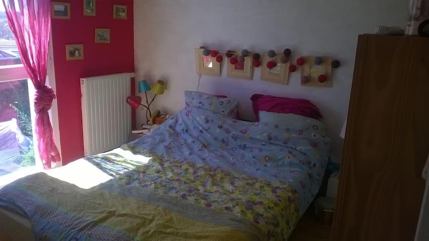 Chambre double à 15 min de Rennes - Gévezé