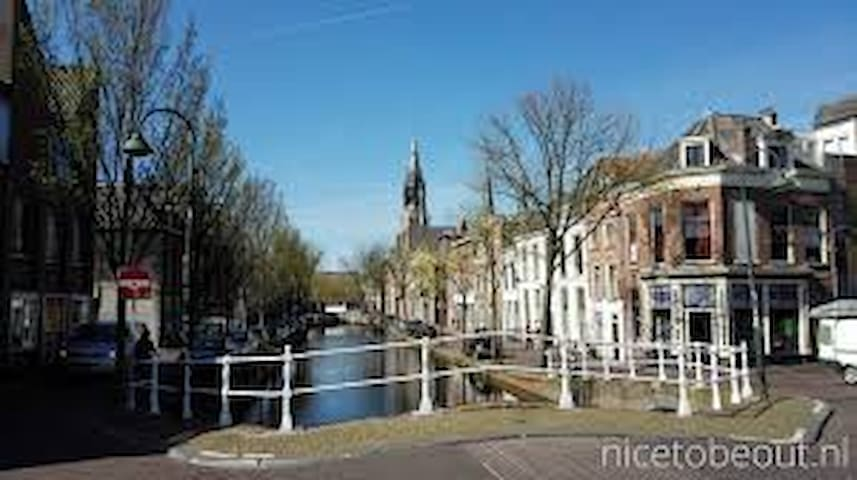 Very cosy apartment in city centre Delft - Delft - Flat