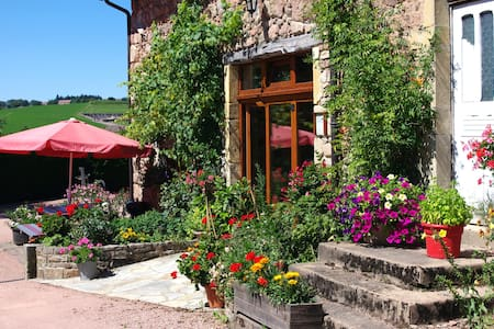 Chambres d'hôtes Jolivet - ch. rose - Bed & Breakfast