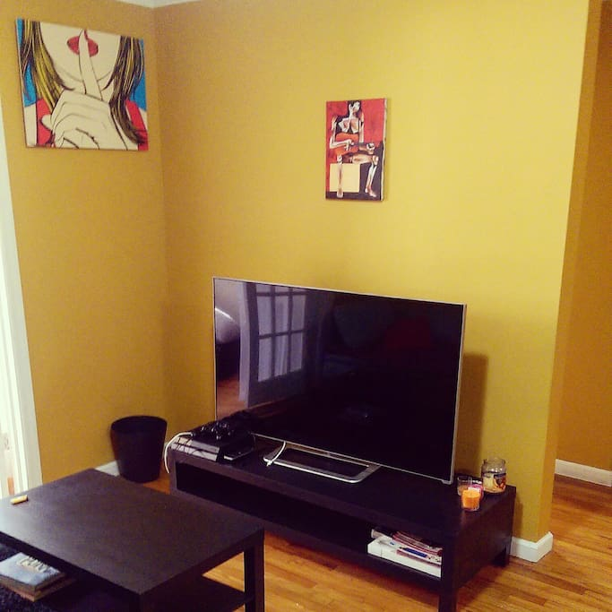 Two Bedroom Apartment Jersey City Heights: 2 Bedroom,parking ,laundry AIRBNB JAM ,10minsNYC