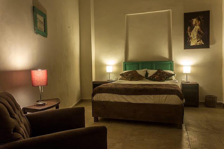 Bonita casa-estudio en Campeche