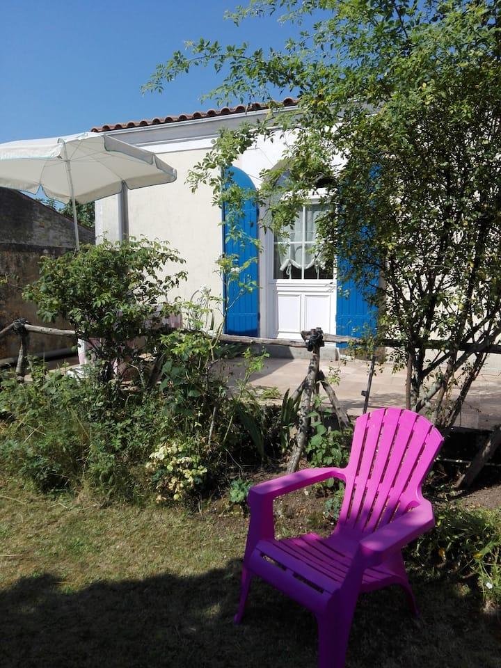 Logement indépendant avec jardin