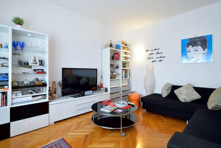 Stupefacente ampio appartamento