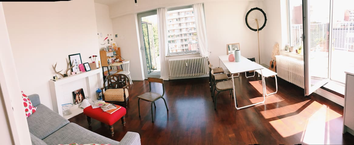Small/cozy with big ass terras - Gent - Apartment