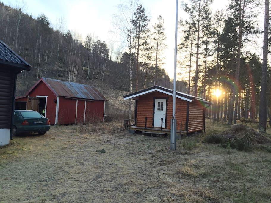 Gjestehytte, cabin