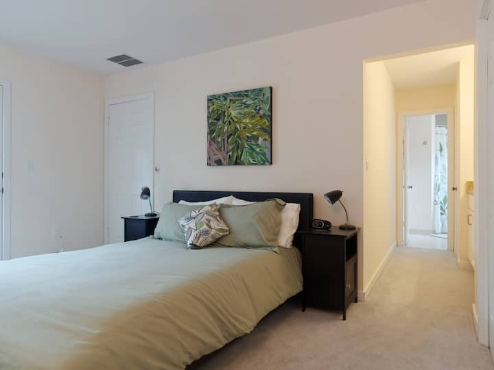 Lovely Private Master Bedroom