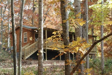 Lazy Rocker Cabin in Apple Country - Hendersonville - Blockhütte