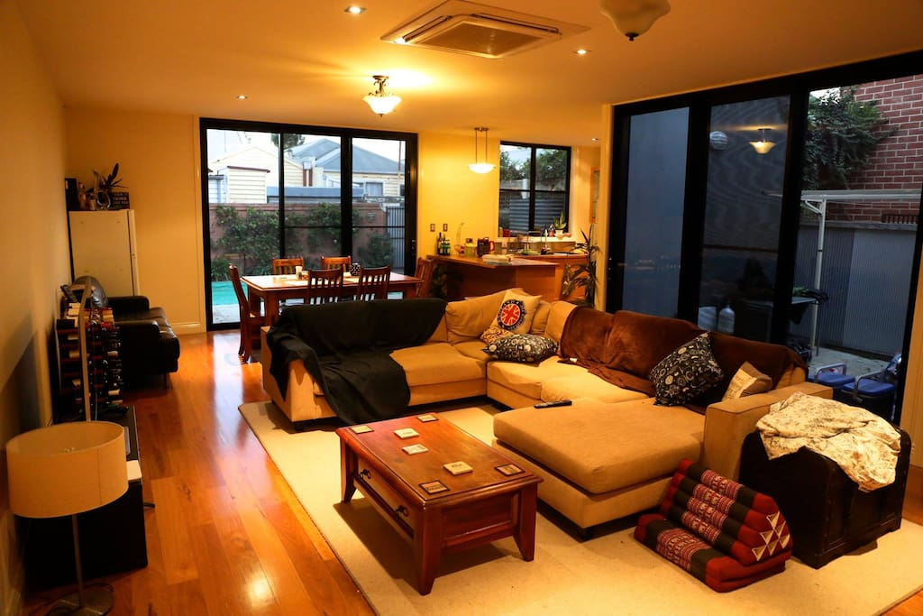 Large comfortable living space