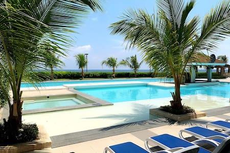 Mactan Resort Studio w/ Ocean View @Arterra #promo