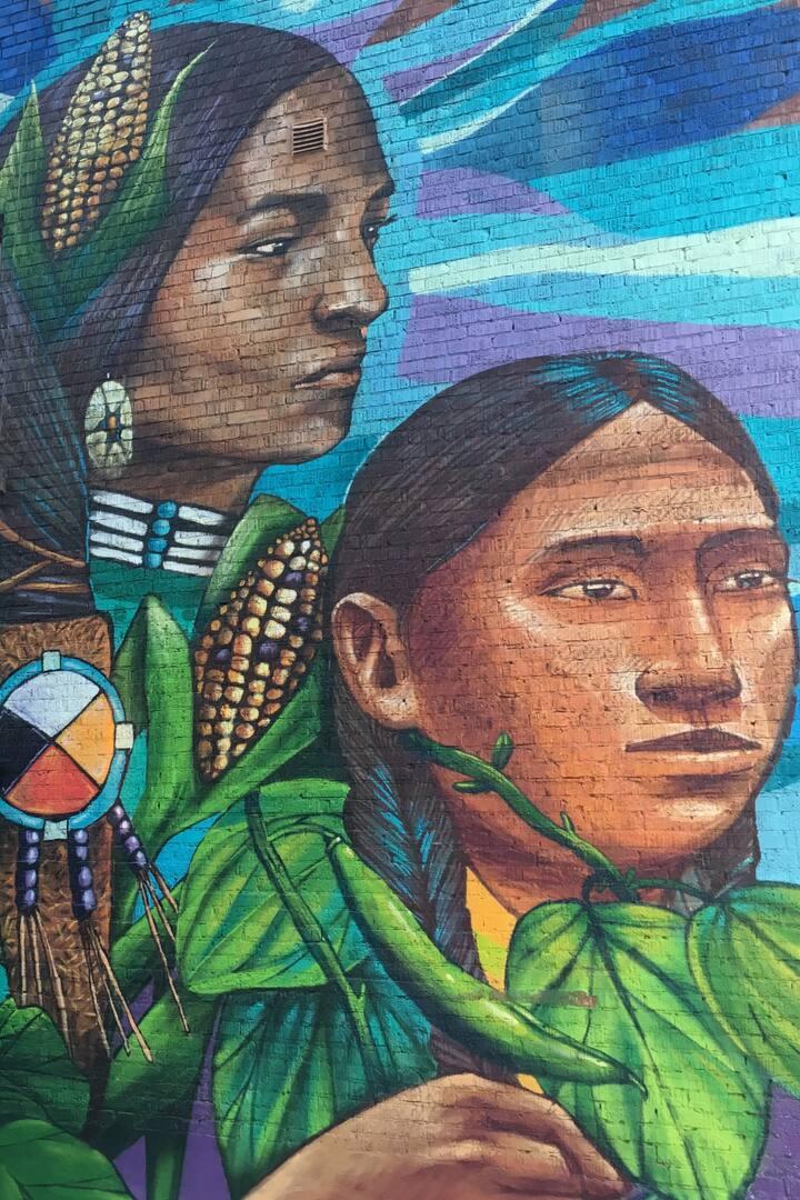 Mural by Paula Tikay