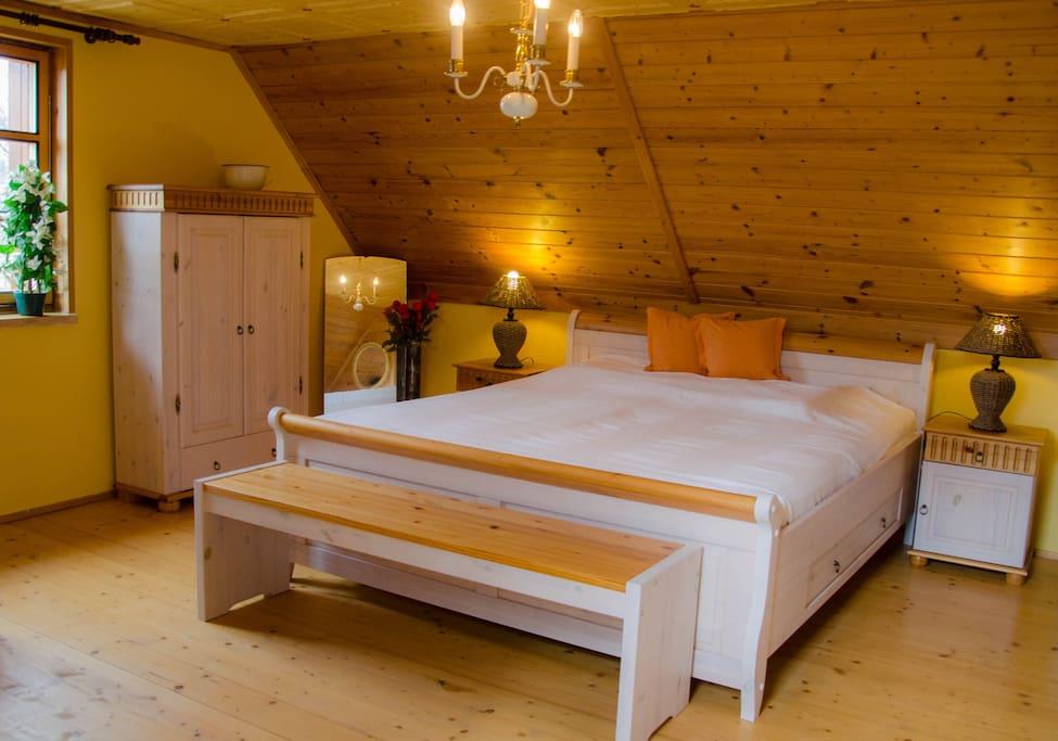 Your Bedroom with Bathtube