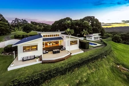 Byron's Brae - hinterland luxury - Possum Creek - Haus