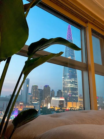 Wonderful '123 Lotte tower' view