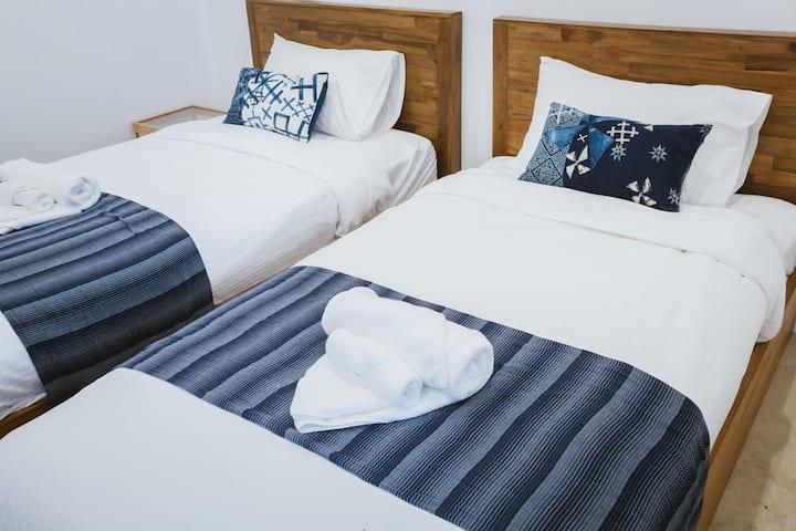 Hug Inn Phrae - Twin bed