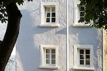 Cottage im Sommer  cottage in summer