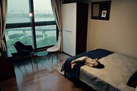Great Han Riverview Luxurius Double Bedroom - Seongdong-gu