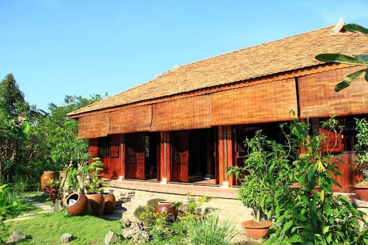 Gite Nha Vuon Nam Hien Mekong - Chợ Lách - Bed & Breakfast