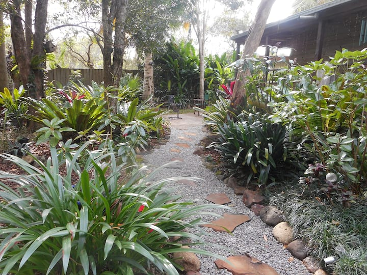 A Rainforest Retreat ,  own entrance close to town