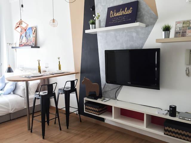 5 Stars Studio - 7mins to MATRADE / 15mins to KLCC - Kuala Lumpur - Apartment