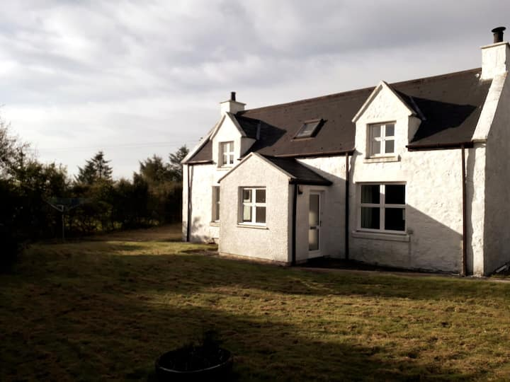 Self-catering stone cottage in rural setting